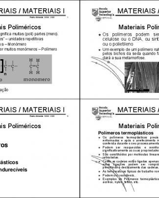 Engenharia Dos Materiais - 23 Aula