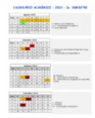 Gerenciamento ... - Godoi Part1 - Calendario Academico 2010 2 Quinzenal