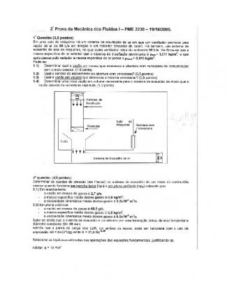 Pme2230 Mecflu Poli Usp P1 P2 P3 Coletânia - P2 2005