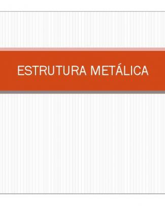 Estrutura Metálica-introdução
