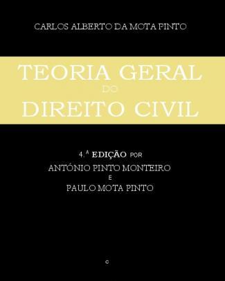 Teoria Geral Do Direito Civil - Carlos Alberto Da Mota Pinto