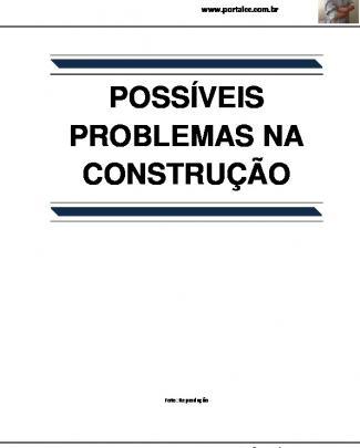 Possíveis Problemas Na Construção