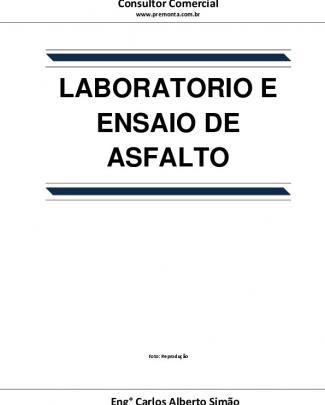 Laboratório De Ensaio De Asfalto