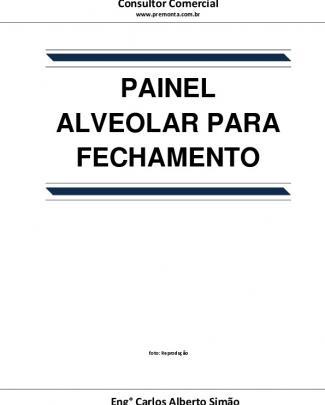 Painel Alveolar Para Fechamento