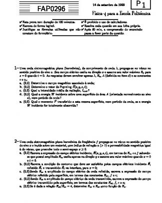 P1 - 1999prova