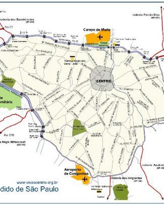 Mapa Centro Expandido