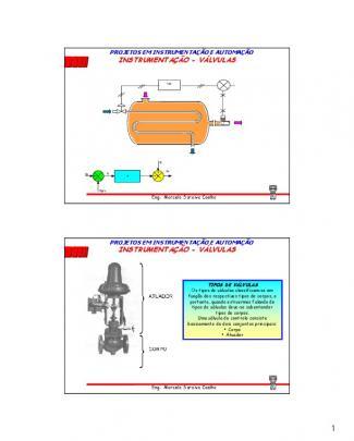 Instrumentação - Válvulas