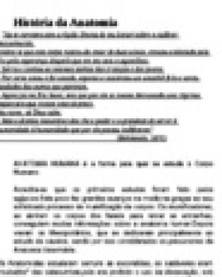 Hist ¦ria Da Anatomia