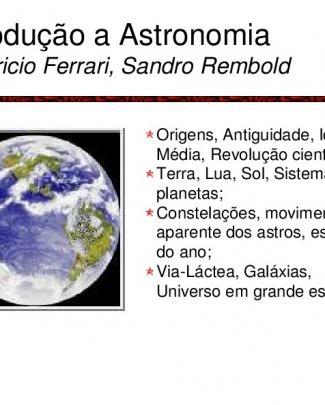Início à Astronomia