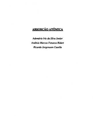 Absorcao Atomica