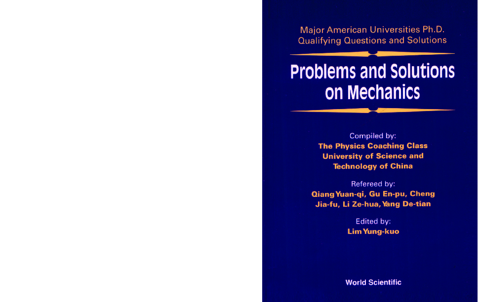 Problems And Solutions On Mechanics ID 5c177b488e7d6